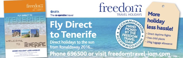 Fly direct to Tenerife from Isle of Man