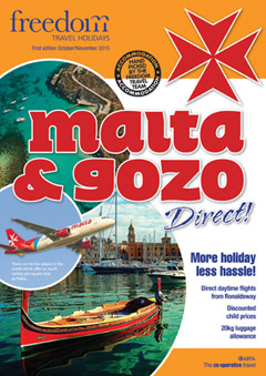 Fly Direct to Malta & Gozo from Isle of Man